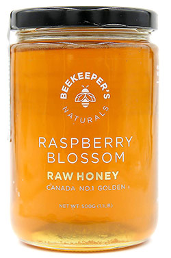 Raspberry Blossom Raw Honey by Beekeeper's Naturals