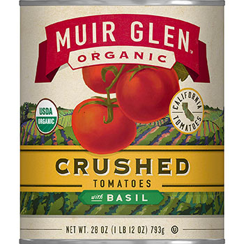 Crushed Organic Tomatoes With Basil by Muir Glen