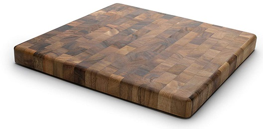Ironwood -Acacia wood gourmet square cutting board