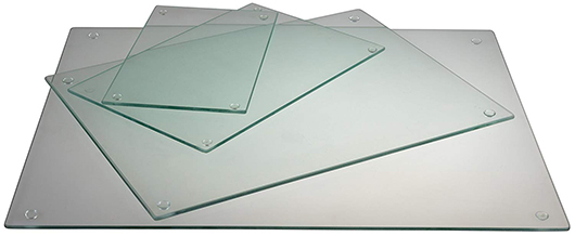 Clever Chef - Glass Cutting Board multi-size set of 4