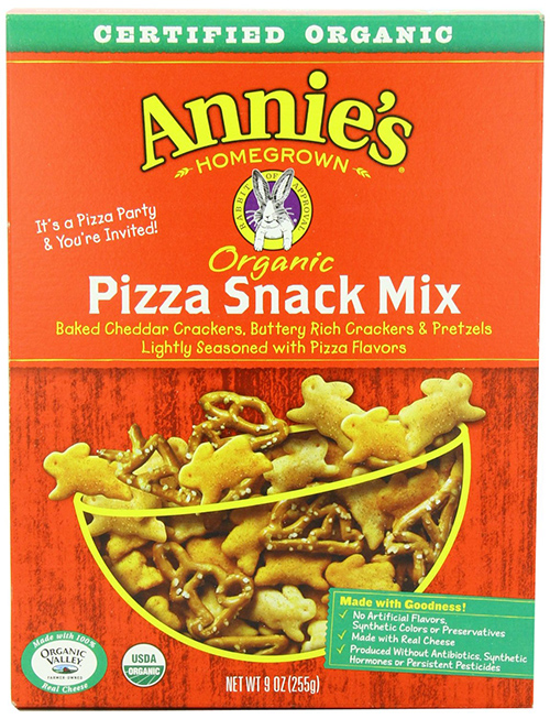 Annie's Homegrown Organic Pizza Snack Mix