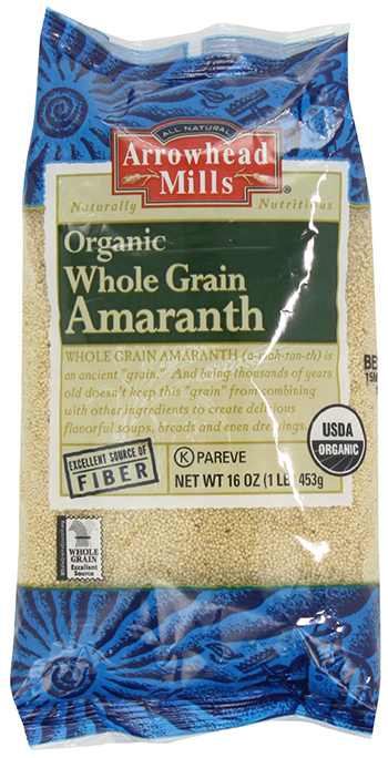 Arrowhead Mills Organic Whole Grain Amaranth