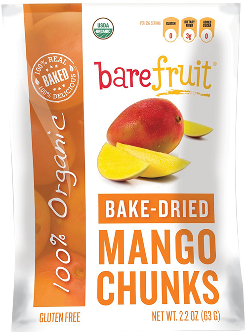 Bare Fruit Bake-Dried Organic Mango Slices