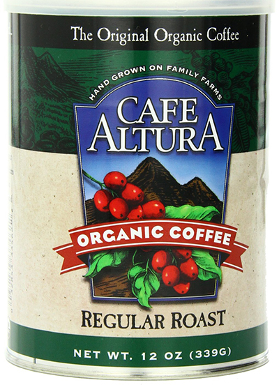 Cafe Altura Regular Roasted Organic Coffee