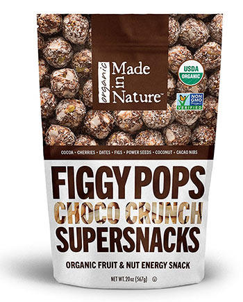 Choco Crunch Unbaked Energy Pops by Made in Nature