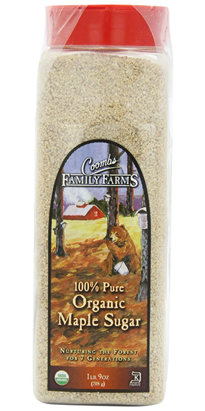 Coombs Family Farms 100% Organic Maple Sugar