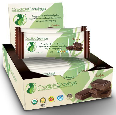 Credible Cravings Perinatal Organic Food Bar for Women