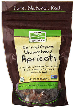 Dried Organic Apricots by Now Foods