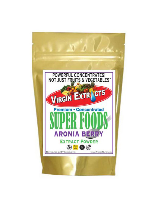 Virgin Extracts Freeze Dried Organic Aronia Berry Powder