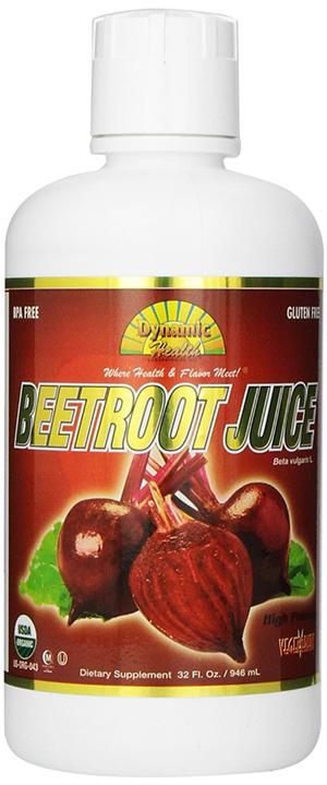 Dynamic Health Certified Organic Beetroot Juice