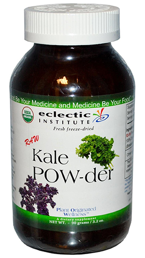 Eclectic Institute Fresh Freeze-Dried Kale Powder