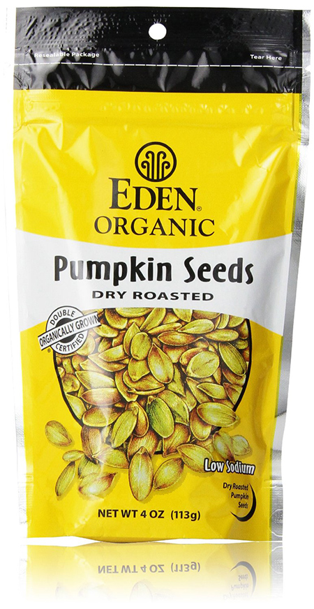 Eden Dry Roasted Organic Pumpkin Seeds