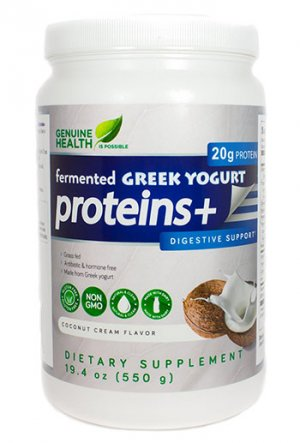 Fermented Greek Yogurt Protein by Genuine Health