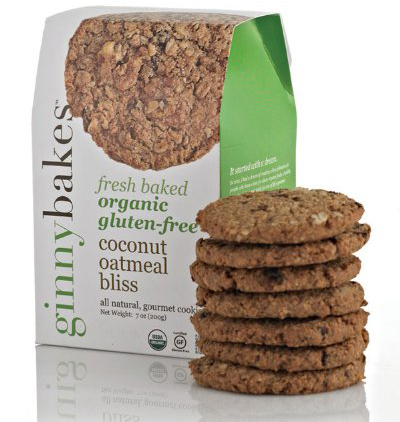Ginnybakes Fresh Baked Organic Cookies With Coconut
