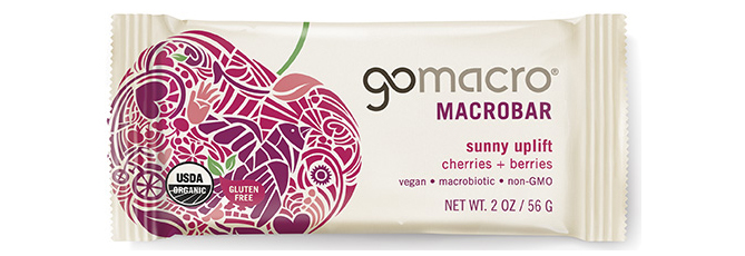 GoMacro Cherries and Berries Macrobars
