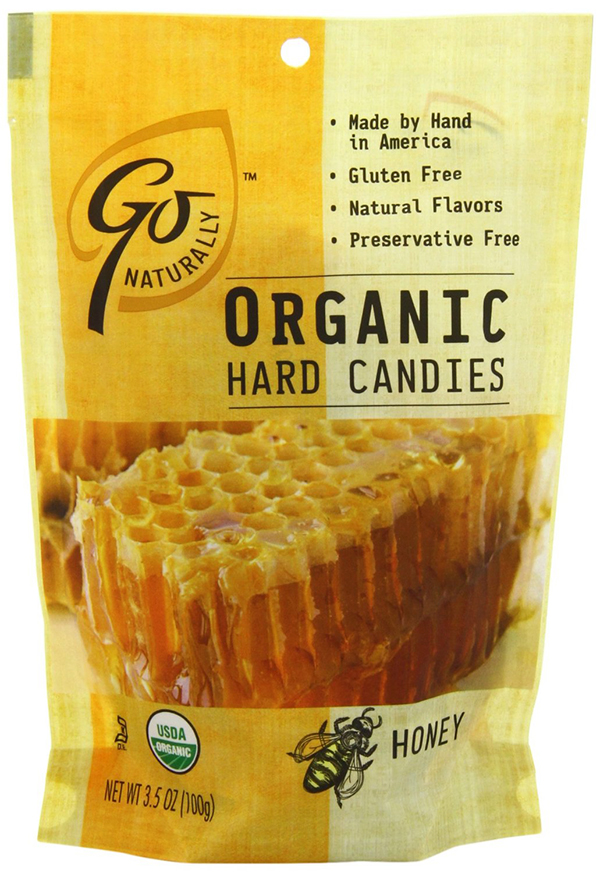 GoNaturally Organic Hard Candies With Honey