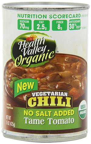 Health Valley Organic Vegetarian Chili