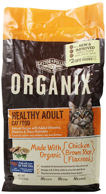 Healthy Adult Cat Food by Castor and Pollux, Organic