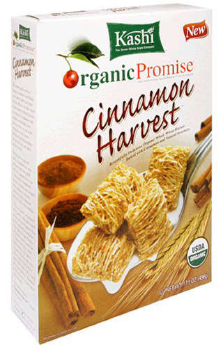Kashi Organic Whole Wheat Biscuits With Cinnamon