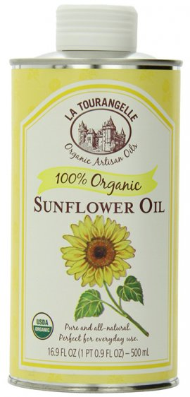 100% Organic Sunflower Oil by La Tourangelle