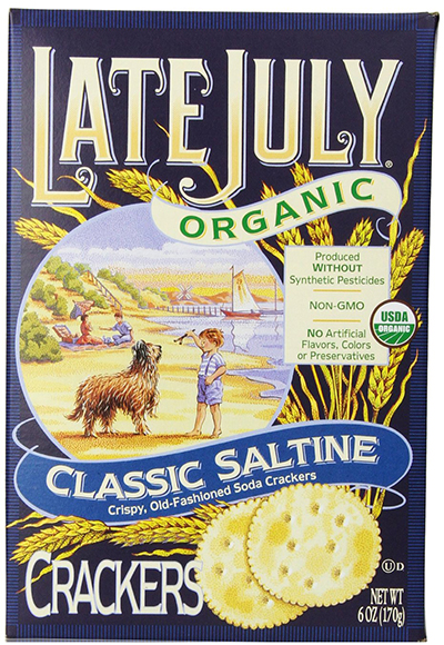 Late July Organic Crackers Classic Saltine