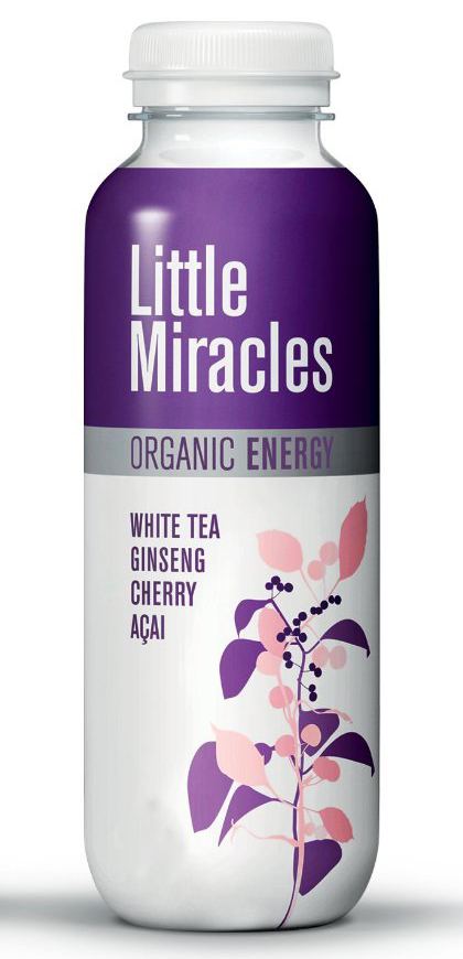 Little Miracles Organic Refreshing Drink With White Tea And Ginseng