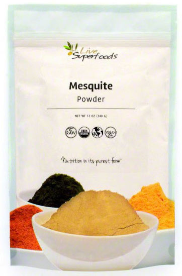 Organic Mesquite Powder by Live Superfoods