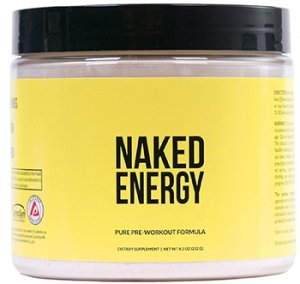 Naked Energy All Natural Pre Workout Supplement