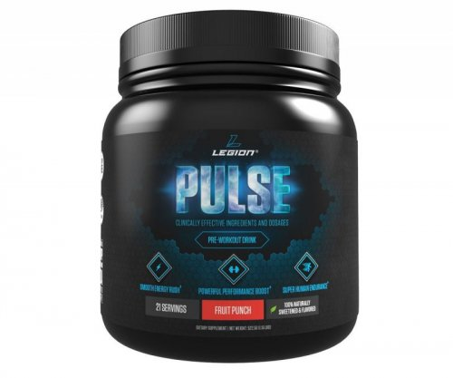All Natural Nitric Oxide Pre Workout Powder by Legion Athletics