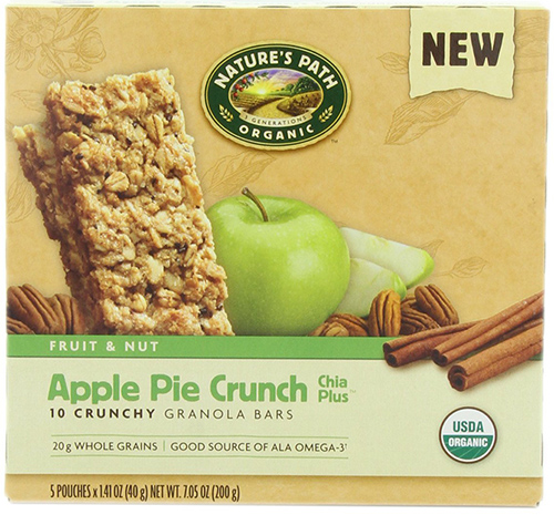 Nature's Path Organic Apple Crunchy Granola Bars