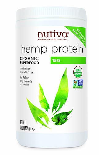Nutiva Natural Hempseed Protein Powder