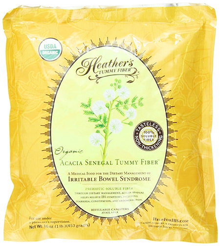 Organic Acacia Senegal Tummy Fiber by Heather's Tummy Care