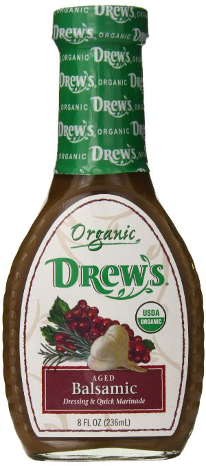 Organic Aged Balsamic Dressing by Drew's