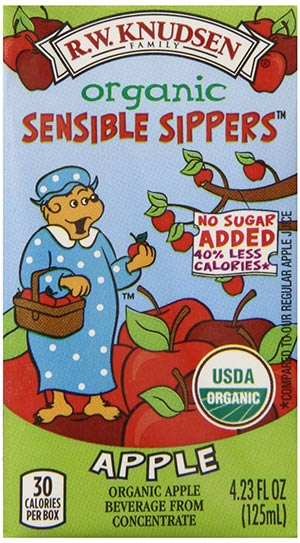 Organic Apple Juice For Kids by R.W Knudsen Family Sensible Sippers