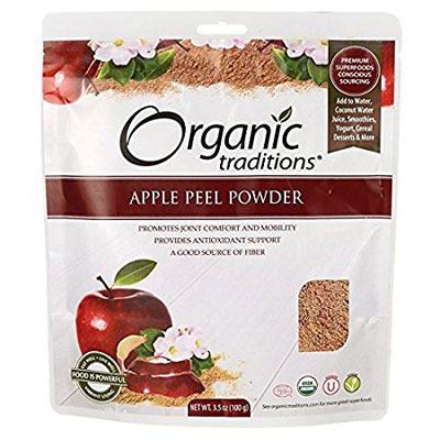 Organic Apple Peel Powder by Organic Traditions