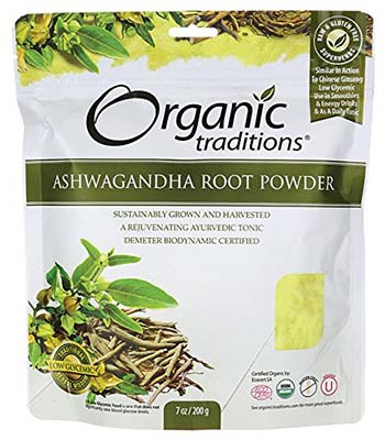 Organic Ashwagandha Root Powder by Organic Traditions