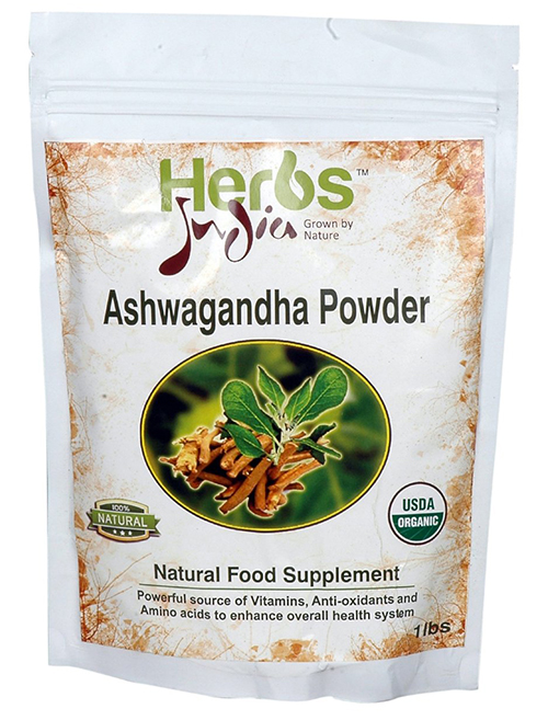 100% Organic Ashwagandha by Herbs India