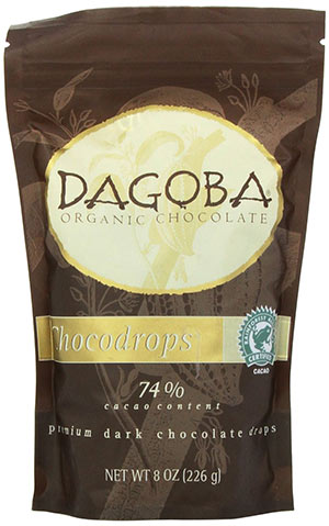 Organic Black Chocolate Drops by Dagoba