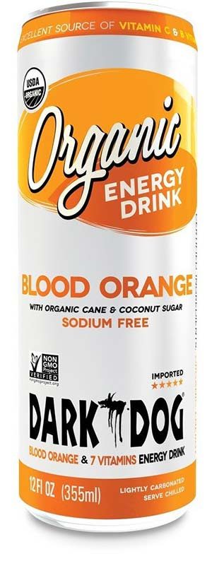Organic Blood Orange Energy Drink