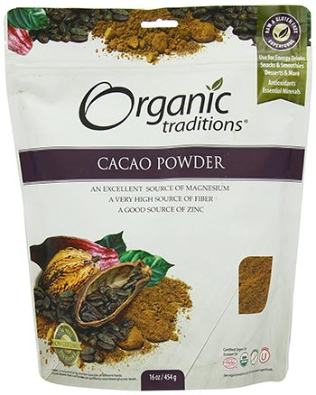 Organic Cacao Powder by Organic Traditions