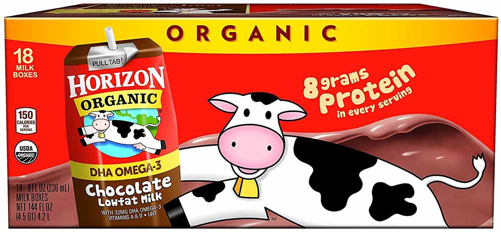 Organic Chocolate Low Fat Milk by Horizon Organic
