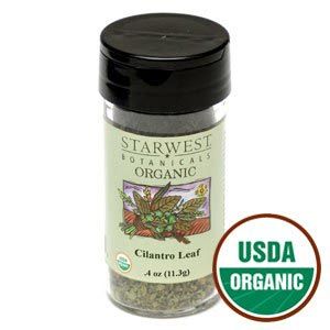 Organic Cilantro Leaves by Starwest Botanicals