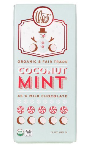 Organic Coconut Mint Chocolate by Theo