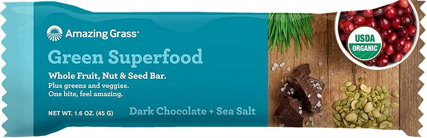 Organic Dark Chocolate and Sea Salt Bar