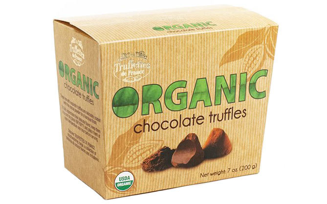 French Organic Dark Chocolate Truffles