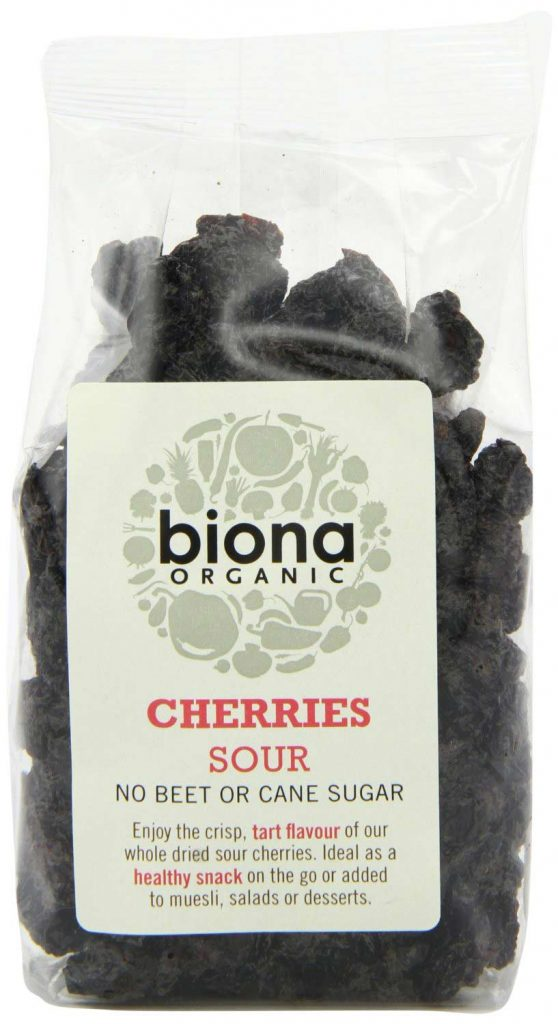 Organic Dried Tart Cherries by Biona