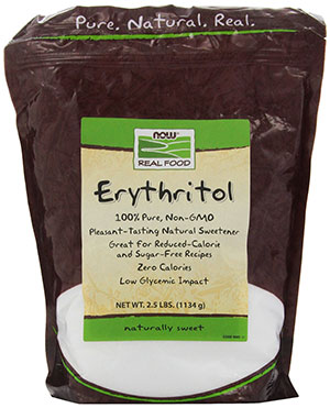 Organic Erythritol by Now Foods