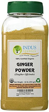 Organic Ginger Powder by Indus Organics