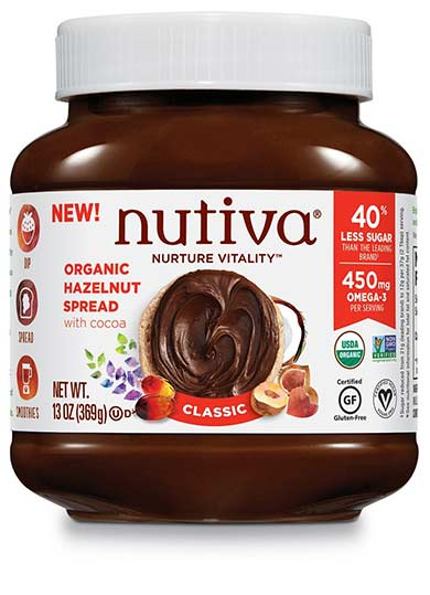 Organic Hazelnut Spread by Nutiva