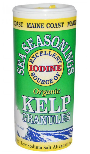 Maine Coast Sea Vegetables Organic Kelp Granules Salt Substitute